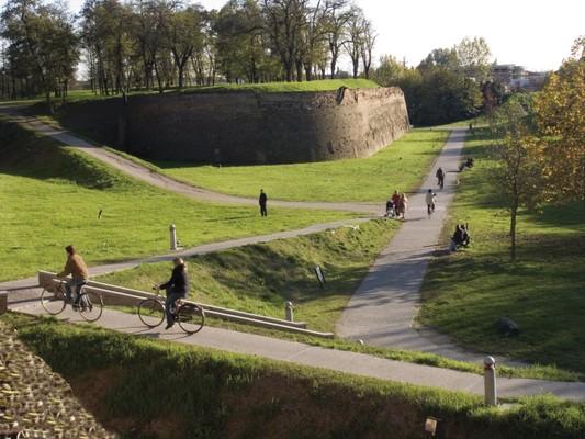 Die Mauer von Ferrara