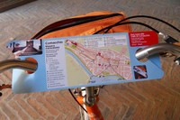 The handlebar map