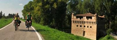 Bici in provincia de Ferrara