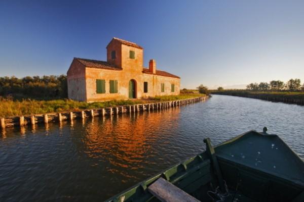 Valli di Comacchio - Estación 3 - Parque del Delta del Po