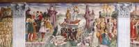 Frescos de la Sala dei Mesi
