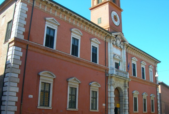 Palazzo Paradiso - Bibliothèque Ariostea