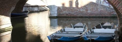 I canali della città sull'acqua