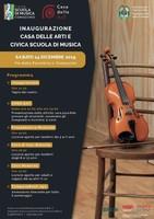 Inagurazione Casa delle Arti e Civica Scuola di Musica