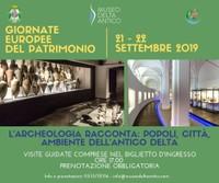 Giornate Europee del Patrimonio -  Museo Delta Antico