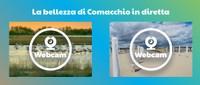 La bellezza di Comacchio in diretta