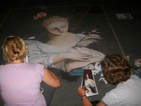 Raduno di Madonnari dell' Ass. Madonnari Rodomonte Gonzaga
