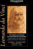 Tra natura e scienza. Le macchine di Leonardo da Vinci al Museo Delta Antico di Comacchio