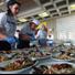 Stand gastronomico con degustazione dei prodotti ittici locali cucinati secondo l'antica tradizione dei pescatori del luogo, mercatino, animazione e intrattenimenti vari
