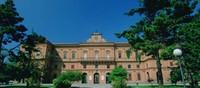 L'antica Delizia fu fatta edificare tra il 1540 ed il 1547 da Ercole II d'Este sui ruderi di un preesistente castello adibito a dimora di caccia, distrutto dai veneziani all'inizio del sec. XVI.