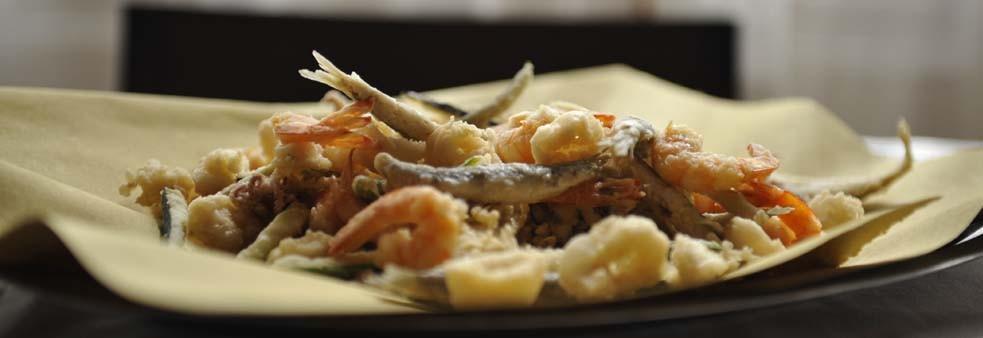 Il fritto di acquadelle comacchiesi