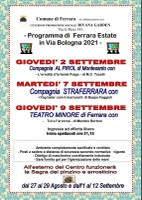 Estate a Ferrara in via Bologna