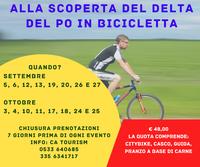 Itinerario 8 – Km 45,300 Volano - Bosco della Mesola - Goro - Gorino - Volano