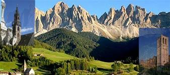 1. Le Alpi e la pianura. Bolzano-Garda-Ferrara